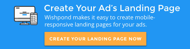 Create Your Ad's Landing Page