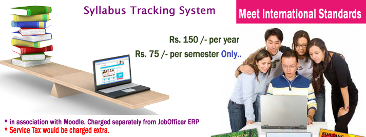 Syllabus Tracking System