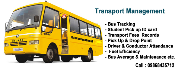 Transport Management System Campus Management Software